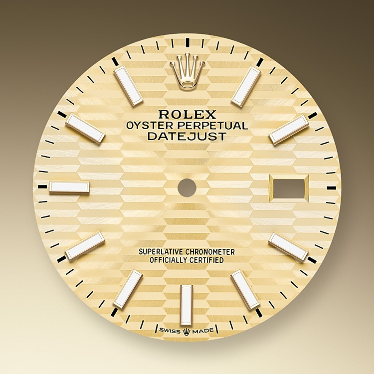 golden dial oystersteel and yellow gold 52495 g 36