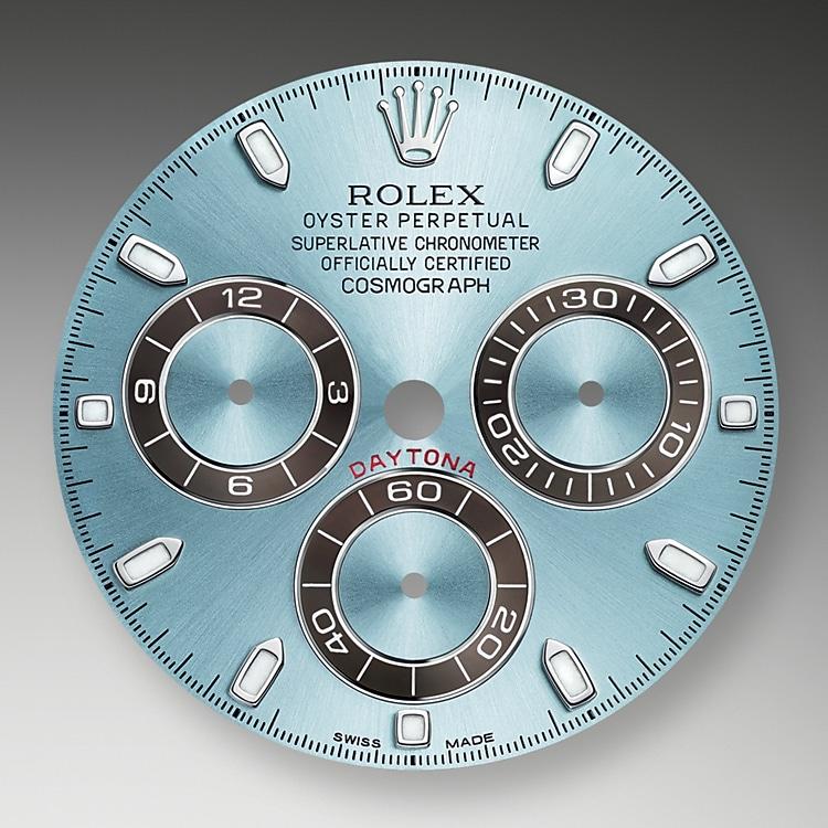 ice blue dial platinum 46475 g 40