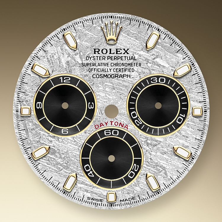 meteorite and black dial yellow gold 52501 y 40
