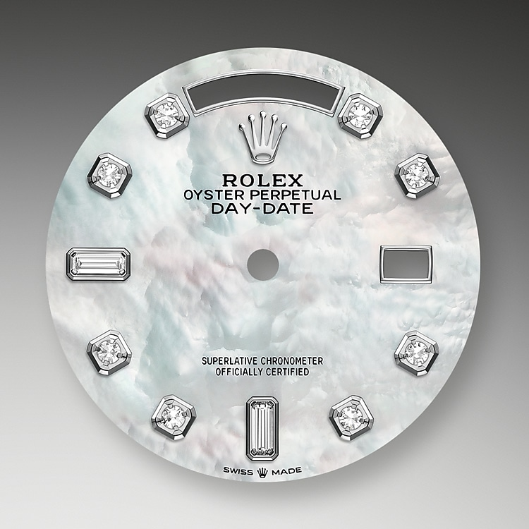 mother of pearl dial white gold and diamonds 46185 g 36