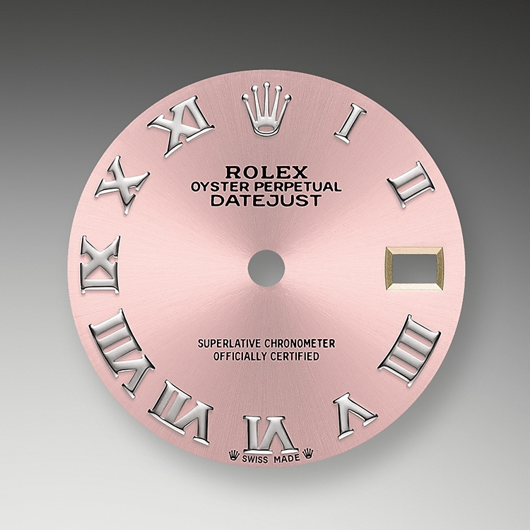 pink dial oystersteel 51080 g 28