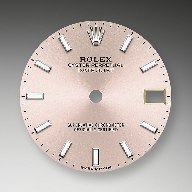 pink dial oystersteel 52062 g 31