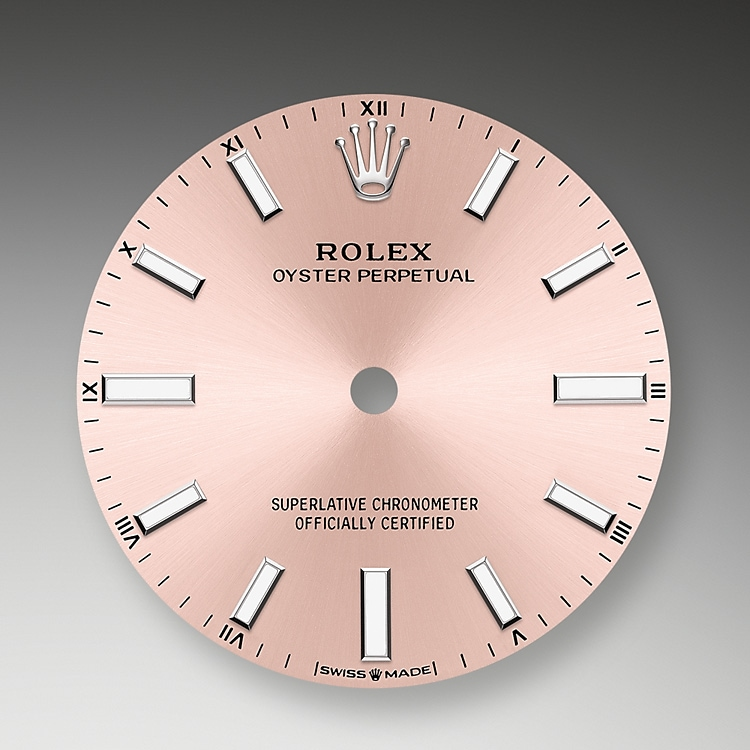 pink dial oystersteel 52083 g 34