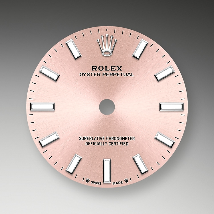 pink dial oystersteel 52088 g 28