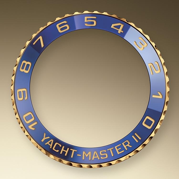 ring command bezel yellow gold 40331