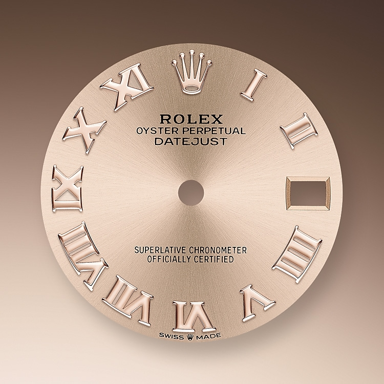 ros   colour dial oystersteel  everose gold and diamonds 50617 g 31