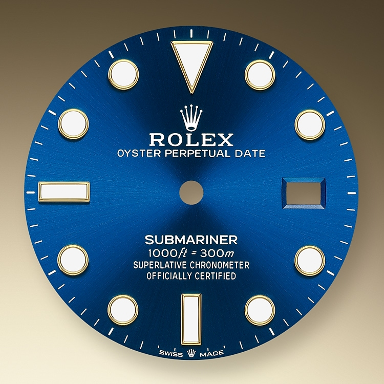 royal blue dial yellow gold 50899 y 41