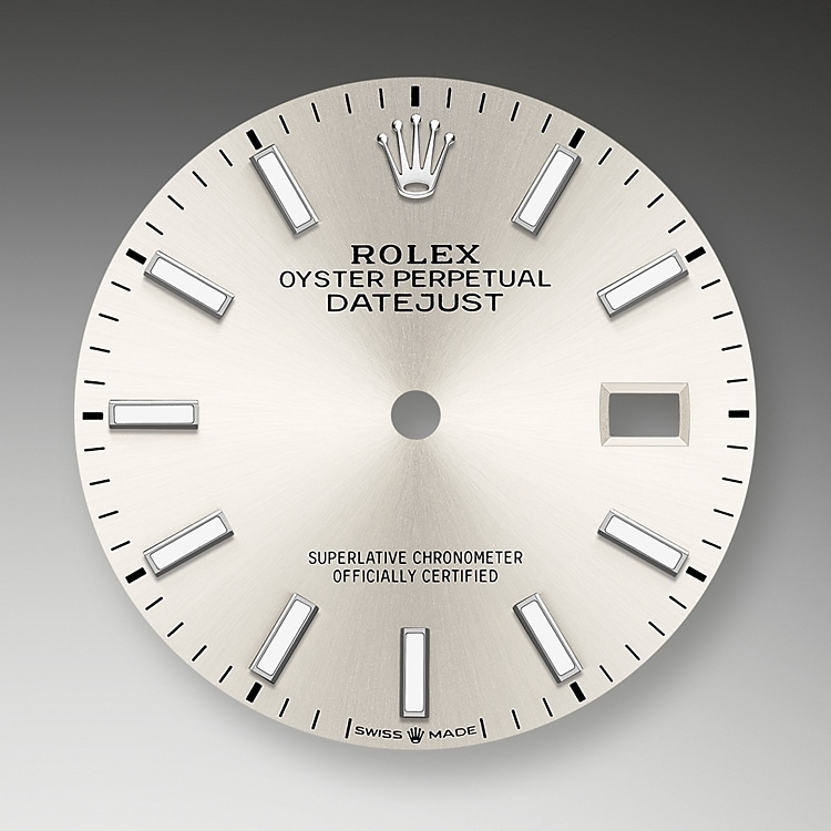 silver dial oystersteel 51193 g 36