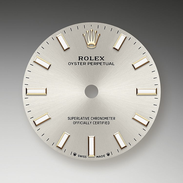 silver dial oystersteel 51239 g 28