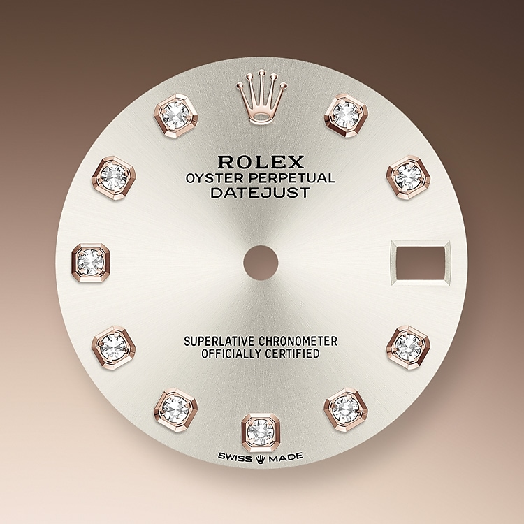silver dial oystersteel and everose gold 50977 g 31