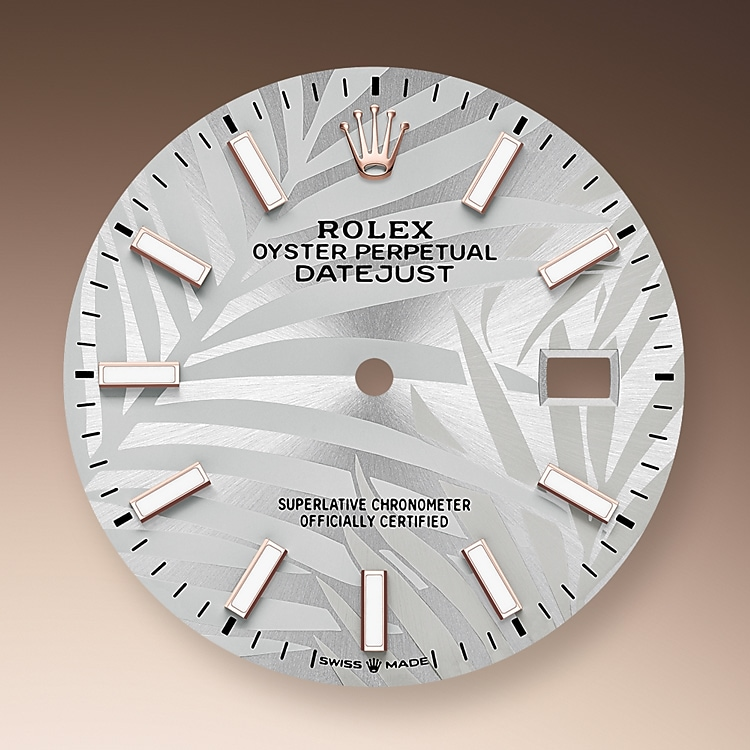 silver dial oystersteel and everose gold 52493 g 36