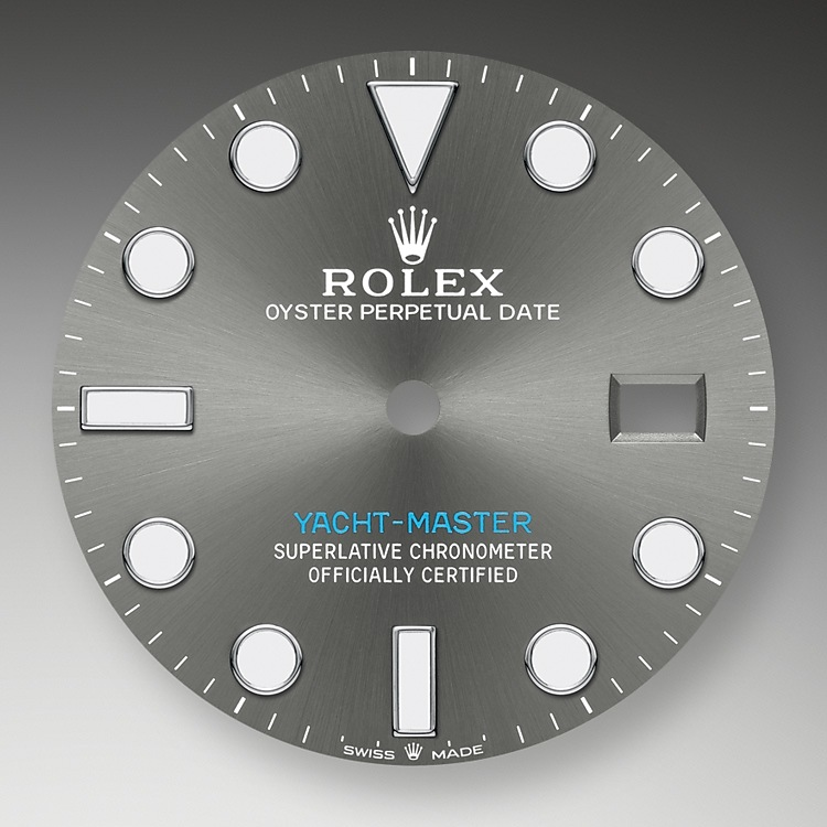 slate dial oystersteel and platinum 51579 g 40