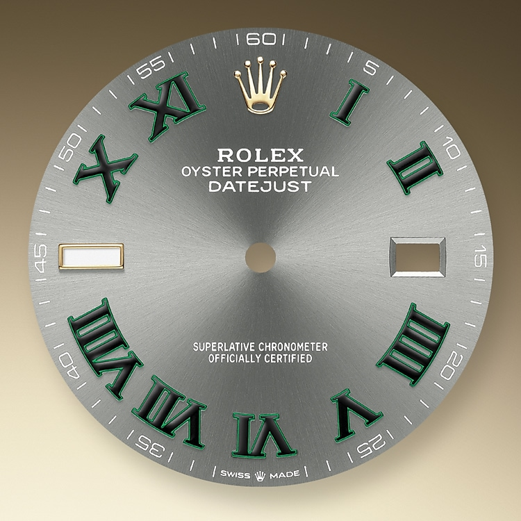 slate dial oystersteel and yellow gold 51333 g 41
