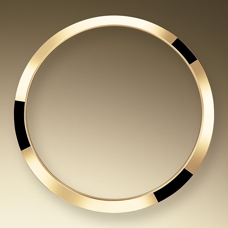 smooth bezel oystersteel and yellow gold 52143