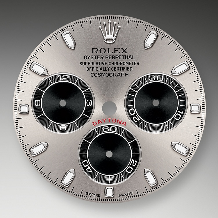 steel and black dial white gold 51040 g 40