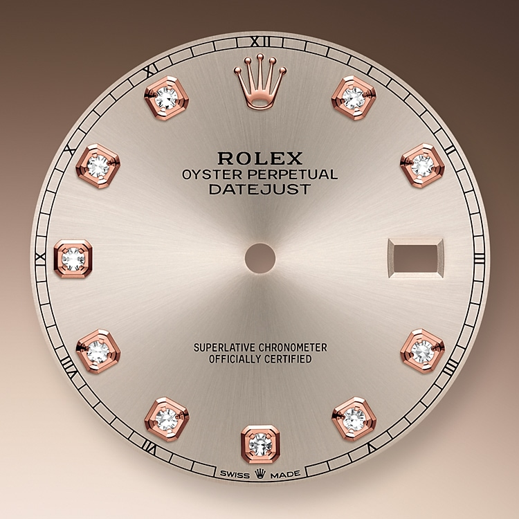 sundust dial oystersteel and everose gold 50750 g 41