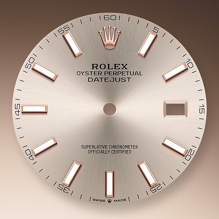 sundust dial oystersteel and everose gold 50751 g 41