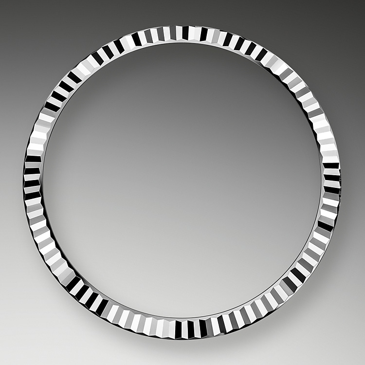 the fluted bezel oystersteel and white gold 50799