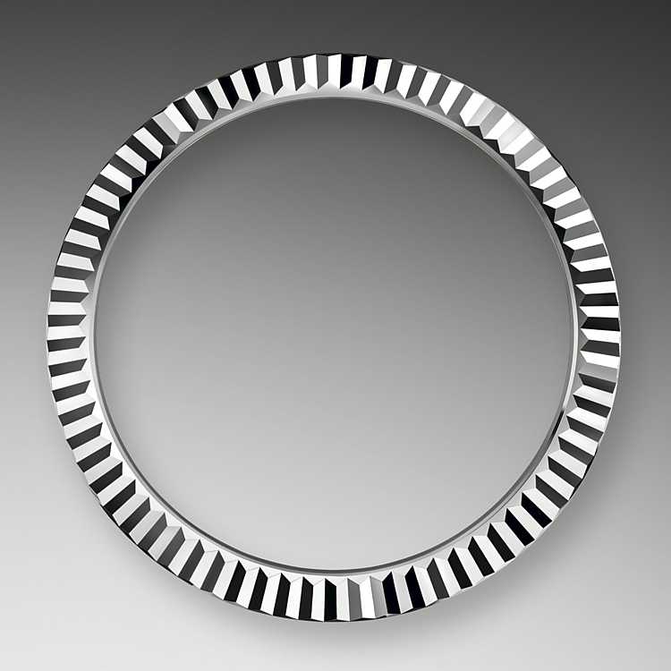 the fluted bezel oystersteel and white gold 50864
