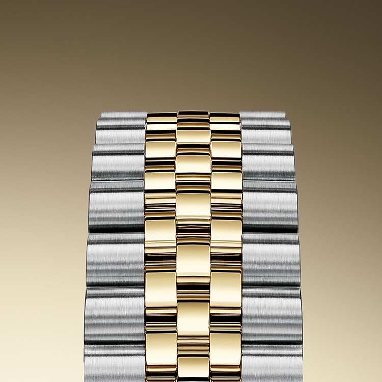 the jubilee bracelet oystersteel and yellow gold 50736