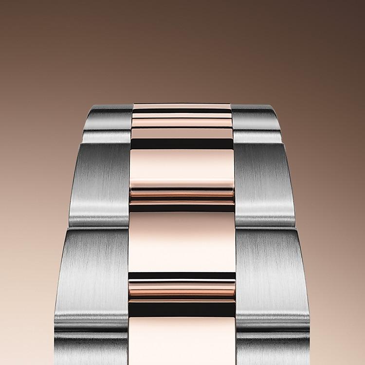 the oyster bracelet oystersteel and everose gold 50649