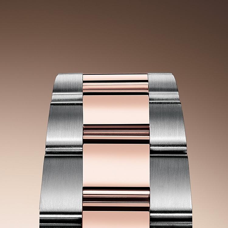the oyster bracelet oystersteel and everose gold 50819