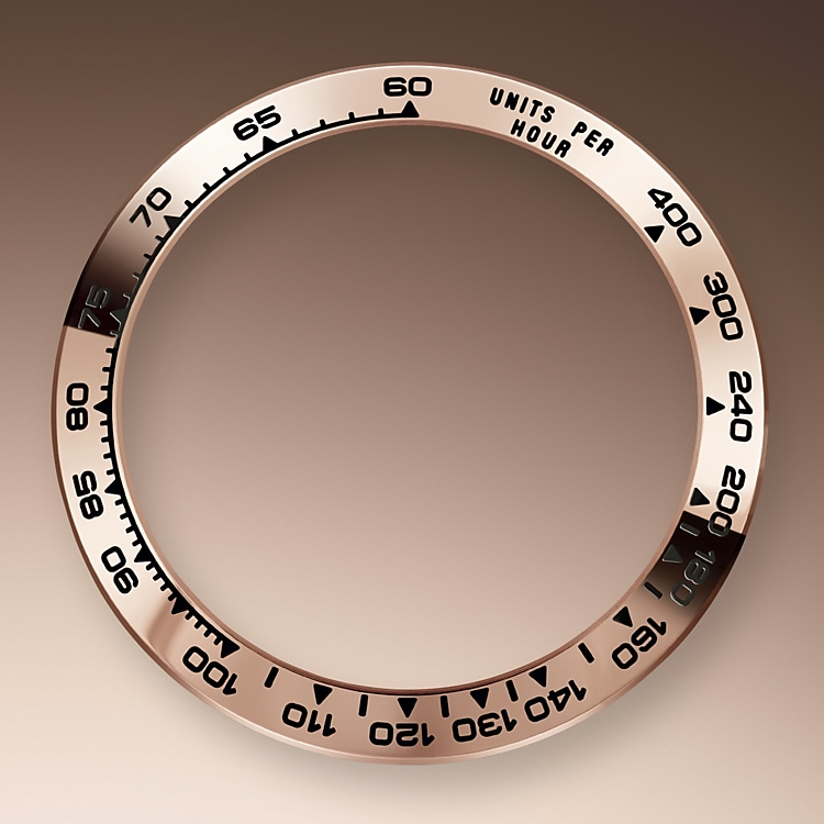 the tachymetric scale everose gold 41335