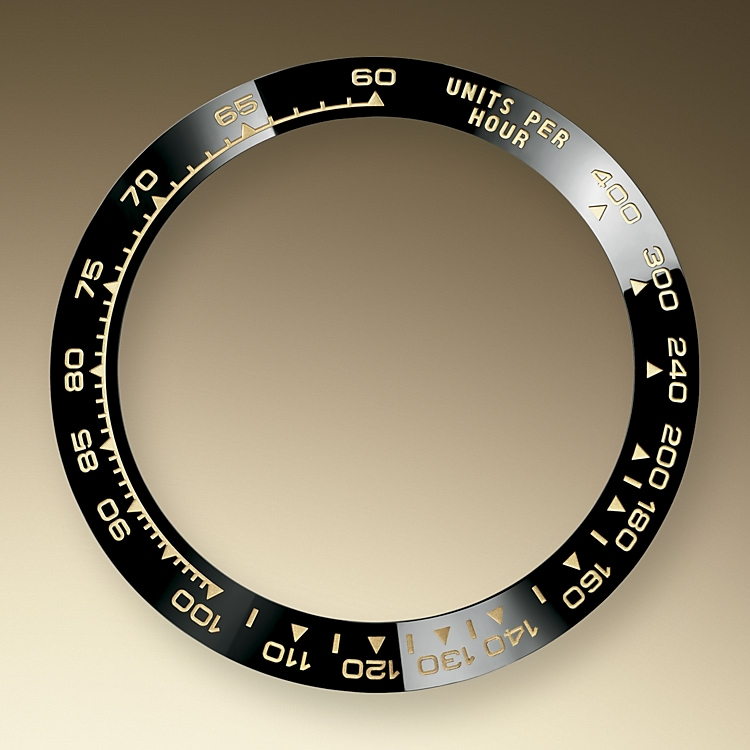 the tachymetric scale yellow gold 50979