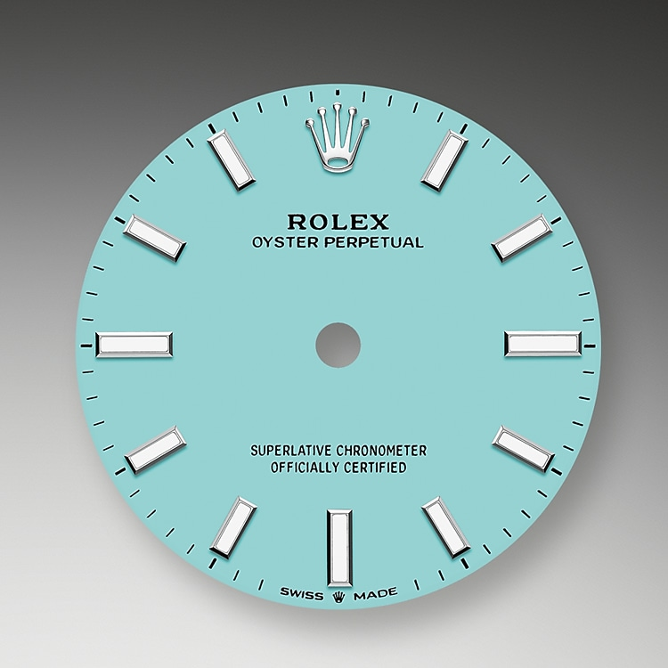 turquoise blue dial oystersteel 52176 g 31