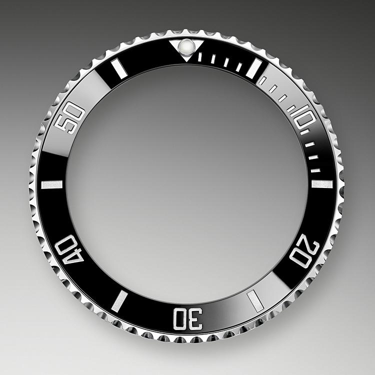 unidirectional rotatable bezel oystersteel 50897