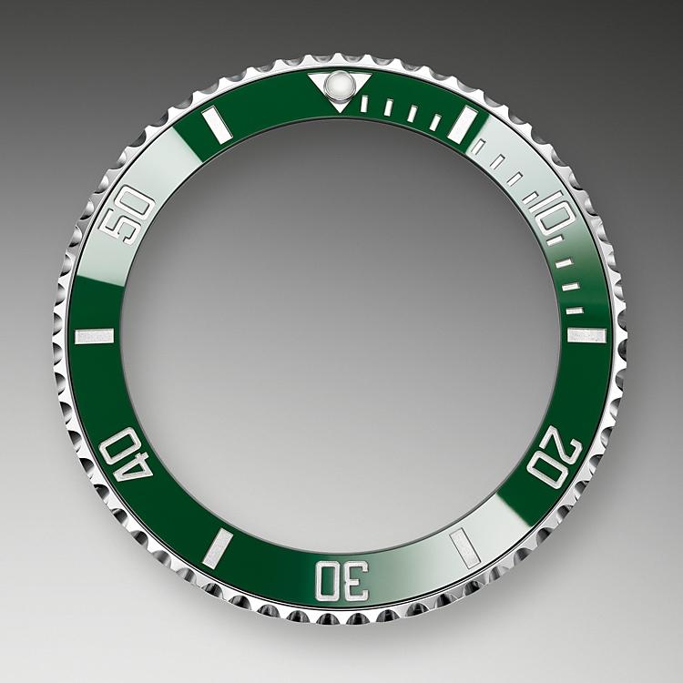 unidirectional rotatable bezel oystersteel 50898