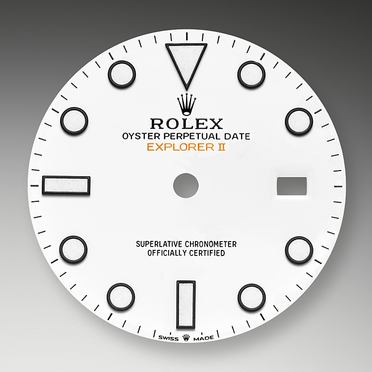 white dial oystersteel 50891 g 42