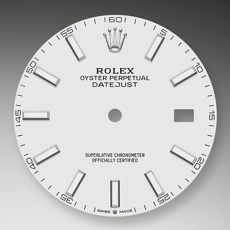 white dial oystersteel 51150 g 41