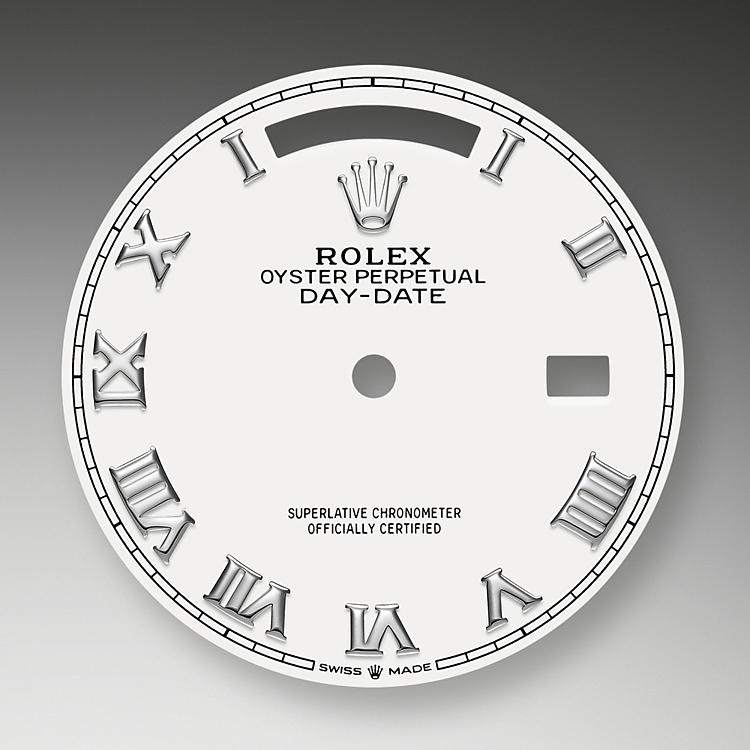white dial white gold 52173 g 36