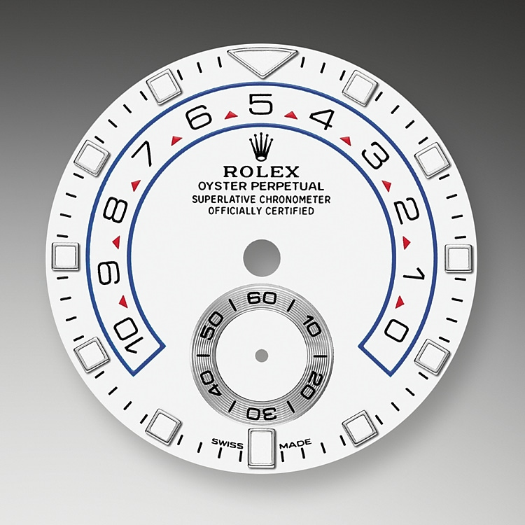 white dial white gold and platinum 51244 g 44