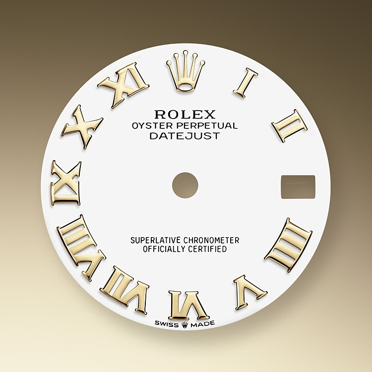 white dial yellow gold 50738 y 31