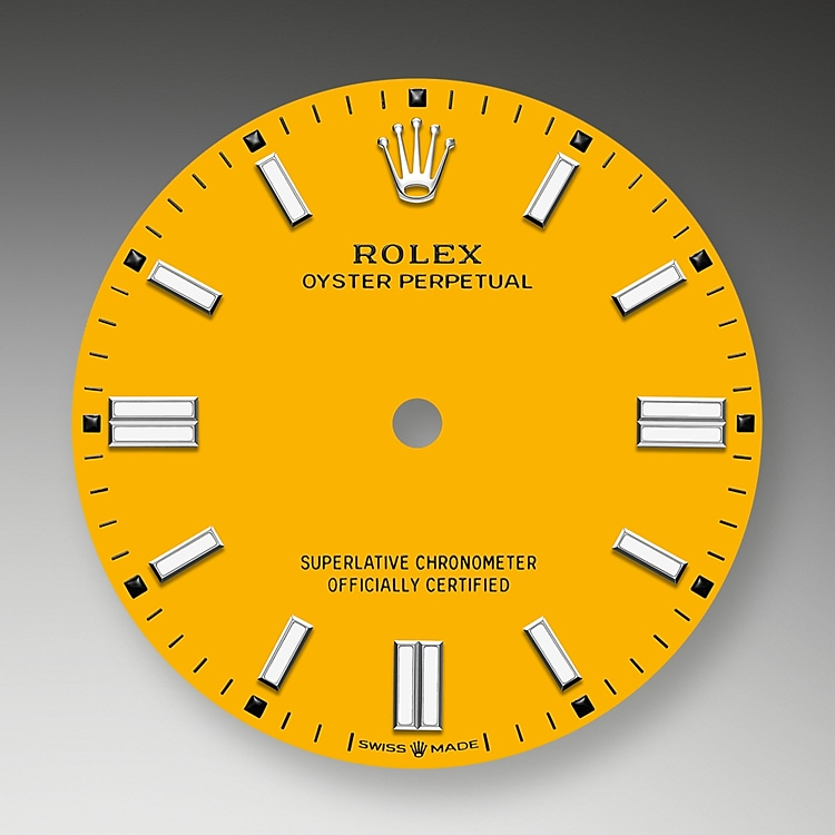 yellow dial oystersteel 52178 g 36