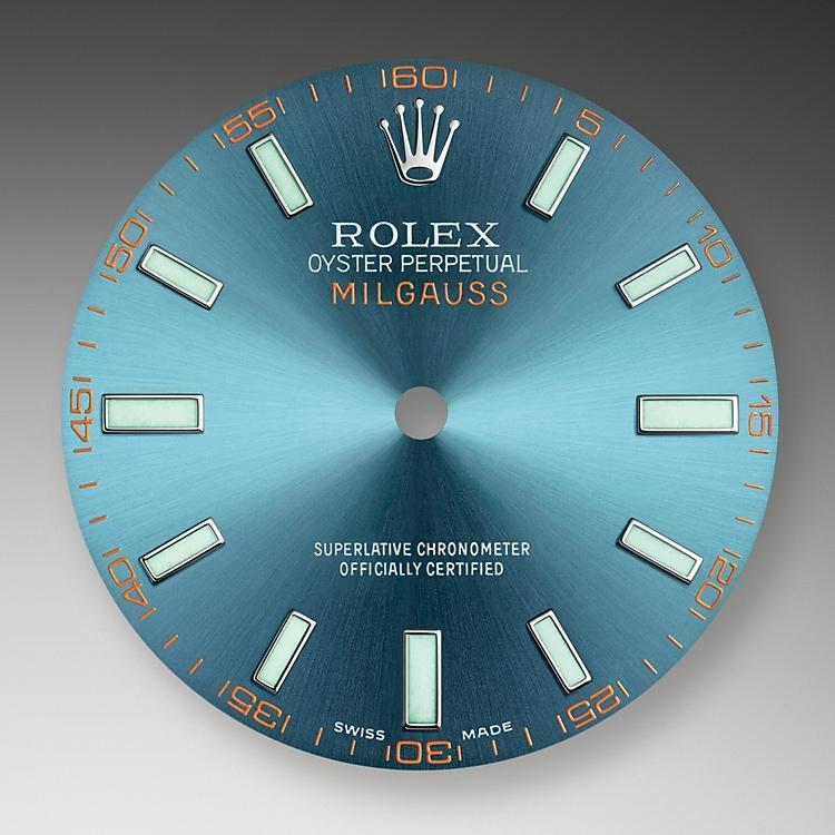 z blue dial oystersteel 50381 g 40