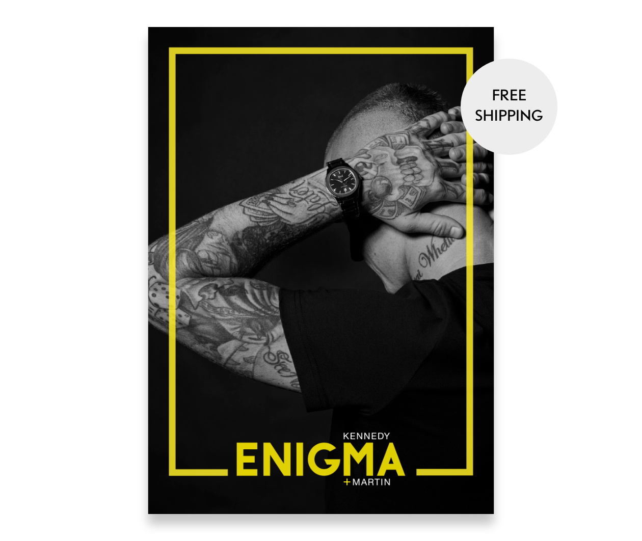 CollectorCard ModelPage Enigma Front
