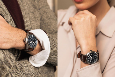 Sharing Style   Androgynous Watches