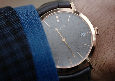 Out-of-this-world experience with Piaget Altiplano Meteorite Dial
